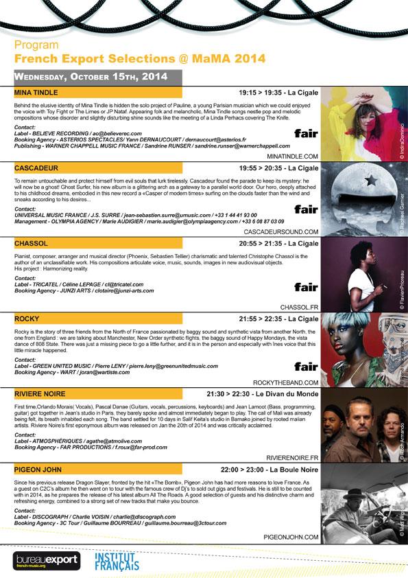 mama-2014-programme